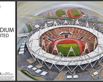 Olympic 2012 Stadia Fine Art Jigsaw Puzzle - Great Britain