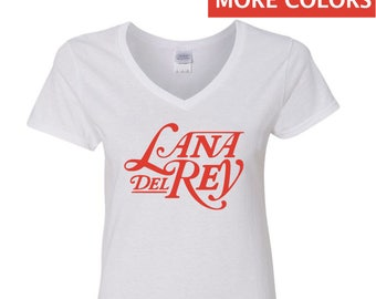 Lana Del Rey V-Neck Shirt