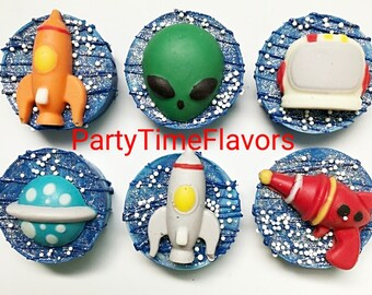 Outer Space Chocolate Oreos