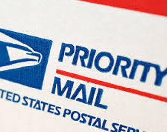 Priority mail for  package