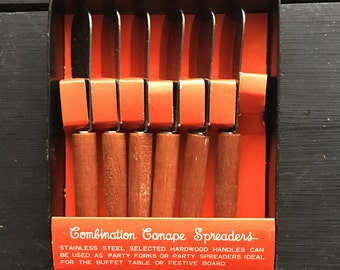 Combination Canape Spreaders VINTAGE