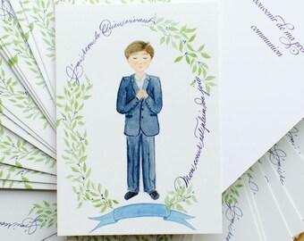 10 Cartes Souvenir de Première communion