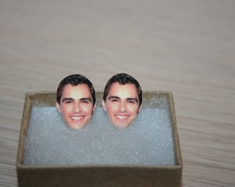 Dave Franco Post Stud Earrings Celebrity Jewelry