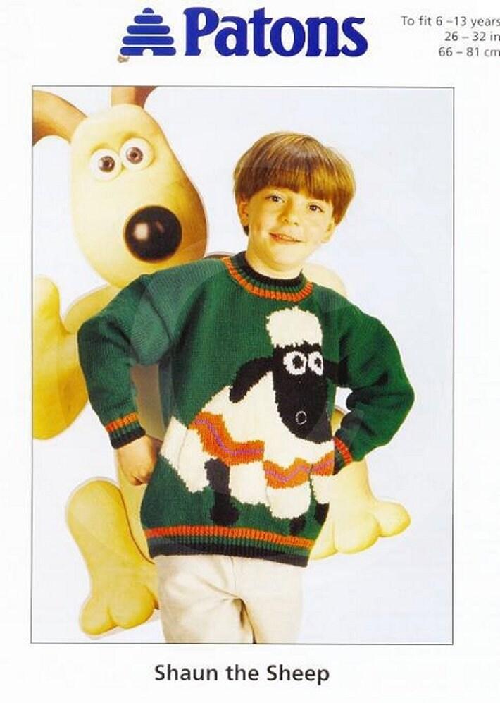 Shaun the Sheep Sweater Wallace & Gromit SHAUN the SHEEP