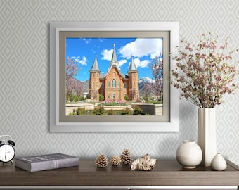 Provo City Center LDS Temple // You get 5 sizes // Instant Digital Download