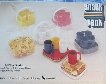 10 piece Party  Picnic  Hard  Plastic  reusable   Bowls  color Tumlers - Bowls  NIP