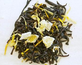 MANGO MADNESS - Organic Loose Tea, loose Leaf Tea, healthy steep tea, Mornings are better with Mango Teas
