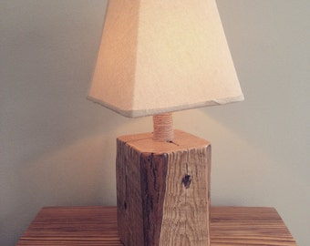 Reclaimed Barn Wood Night Light