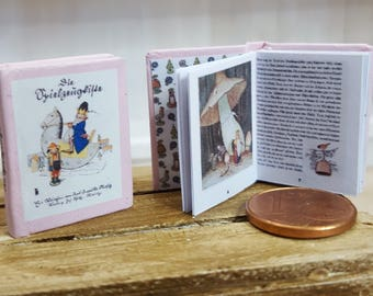 The toy box miniature book 12th scale