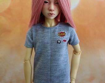 MSD bjd boy T-shirt
