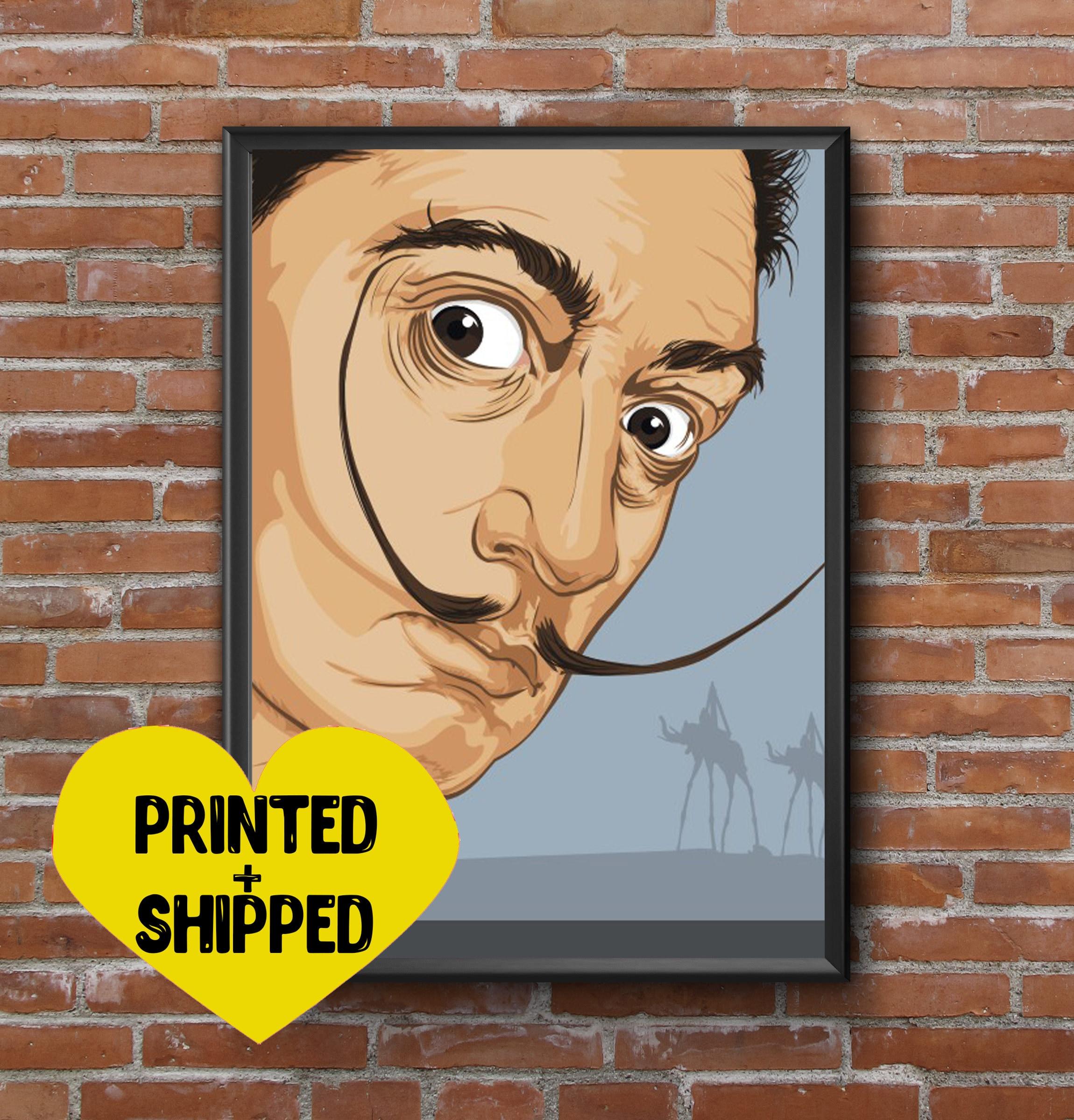 Salvador Dali Print Wall Art Poster Print Room Decor Dali Art