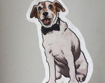 Uggie Sticker