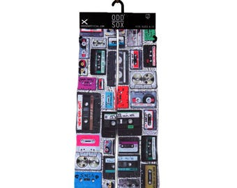 odd sox old school tapes buy any 3 pairs get the 4th pair free novelty cassettes