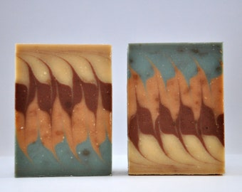 mocha love me | sandhouse soaping company | sandhouse soaps | goat milk soap | artisan soap | handmade soap