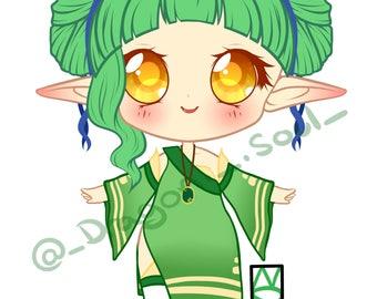 Green Elven Adopt