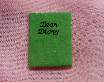 Sale! 1964 *SWEET DREAMS DIARY* #973  -Miniature Book -Vintage Barbie Accessories
