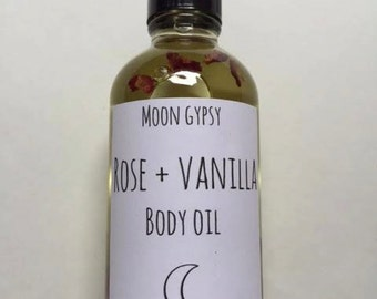 Rose + Vanilla Body Oil