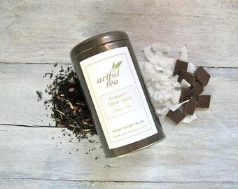 Coco Loco Organic Black Tea • 4 oz. Tin • Velvety Chocolate & Coconut Loose Leaf Tea Blend