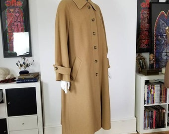 Vintage Swing Coat St Michael All Wool Tall Range Long 1960s