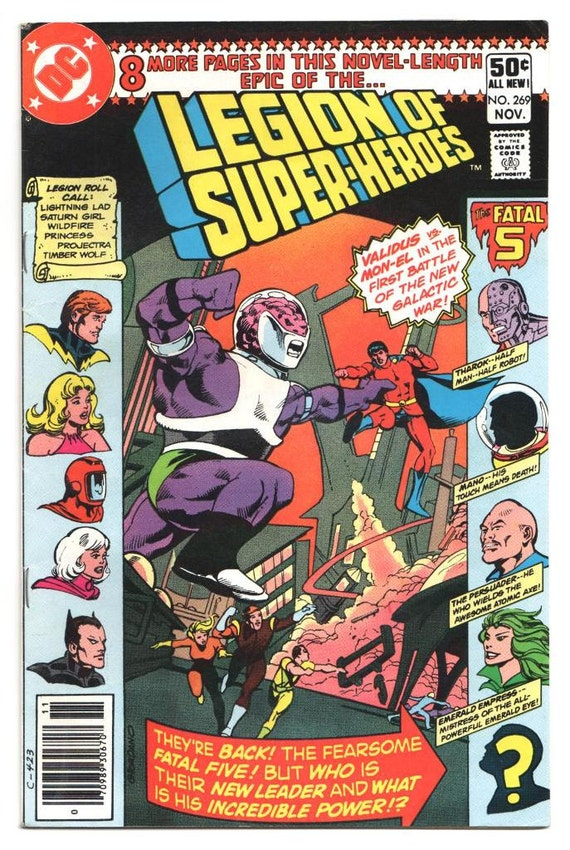 Legion Of Super Heroes 295 1983 Keith Giffen Larry: Legion Of Super-Heroes Issue's 269 283 304 1980 1983
