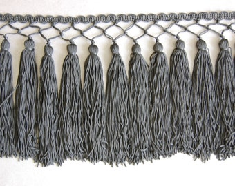 Black Shawl Fringe