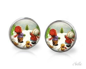 Earrings Sweet Christmas-8