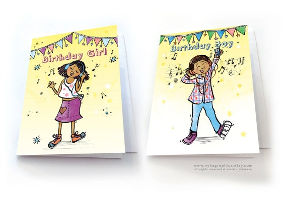 My Music Happy Birthday Card For Teenagers Gifts For
