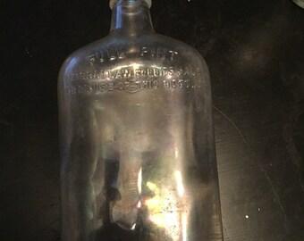 Antique Liquor Pint Bottle