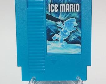 Ice Mario NES Nintendo Tested Reproduction Repro Ships From USA Super Mario Bros