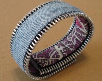 Zipper Bracelet  liberty of london Japan reversible