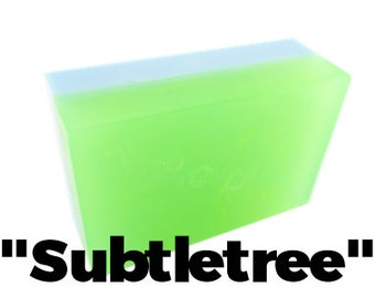 Subtletree - Handmade Soap Bar //vegan, made in Canada//