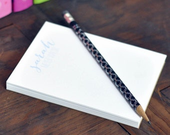 Personalized Small Note Pad