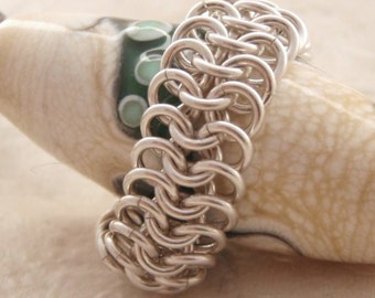 Argentium Sterling Silver European 4 - 1 Chainmaille Ring Kit