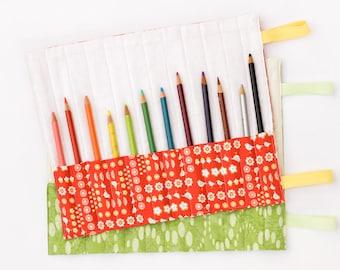Rouleau de crayon de couleur