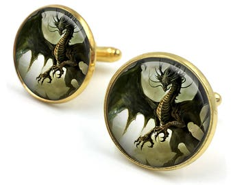 Dragon Cuff Links, Dragon Cufflinks, Dragon Jewellery, Dragon Jewelry,Men Dragon Cufflinks,Dragon Gifts for Men,gift for men,gift for him 16