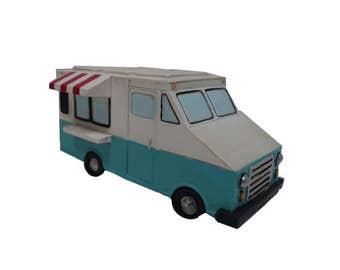 Fairy Garden Dollhouse Miniatures Food Truck