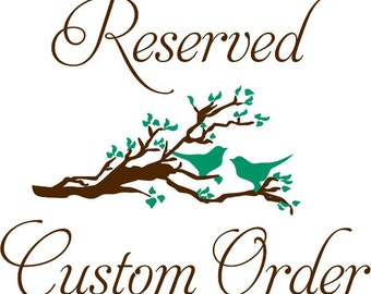 custom wall decal Name custom size