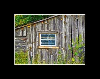 Weathered Summer Barn