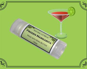FROZEN MARGARITA Lip Balm made with Shea Butter - .15oz Oval Tube