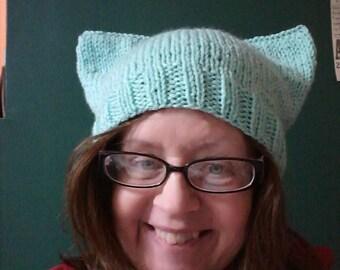 Yoda hat pattern etsy pattern pussycat hat pussyhat kittycat hat yoda hat pattern only multi dt1010fo