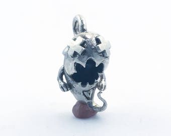 Ghosty - Ghost Pendant - Sterling Silver 925