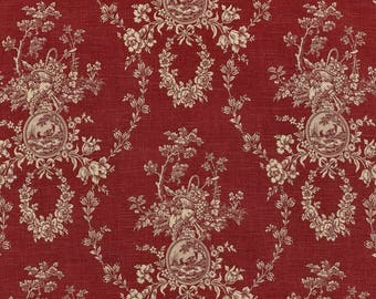 Waverly Country House Toile Platinum cotton linen Free shipping 1 and a half yard