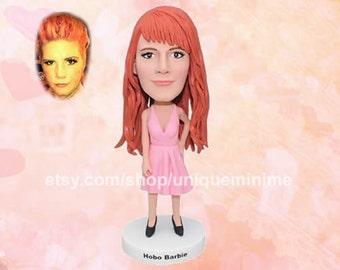 Girl Gift Girl Birthday Gift Her, Girl Bobblehead doll , Unique Best Friend Gift,Bobblehead doll Girl,Custom Bobblehead doll,Bobblehead doll