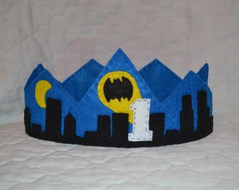 Batman Birthday Crown