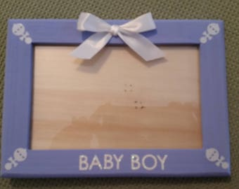 "3x5 ""Baby Boy"" Picture Frame"