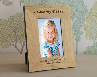 Wooden Personalised Photo Frame