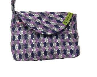 The Emily Clutch Purse - Purple ,Pink,Grey