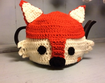 Fox teapot cozy