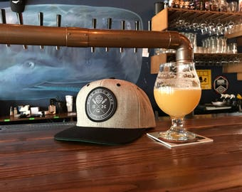 Some Good Hops Heather Hat with Black Bill