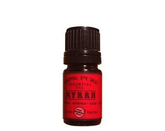 Myrrh Essential Oil, Dark, Commiphora myrrha, Kenya - 5 ml
